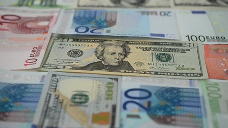 Currencies from different countries