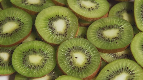 Cut up Kiwi
