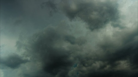 Dark storm approaching