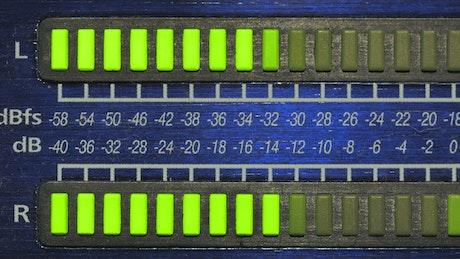 Decibel monitor