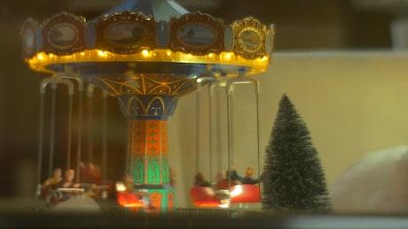 Decorative toy carousel