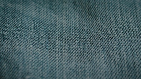Denim fabric, closely view