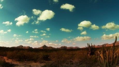 Desert time lapse