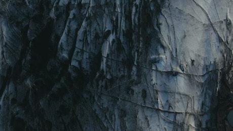 Dirt compacted glacier