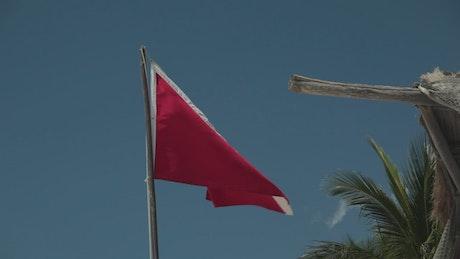 Diver safety flag