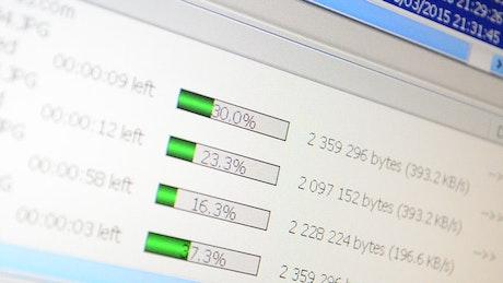Download Manager Statistics