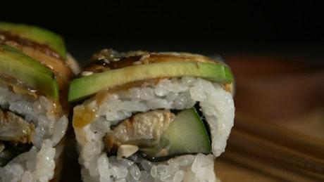 Dragon Sushi Rolls