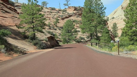 Dusty roads through a National Park