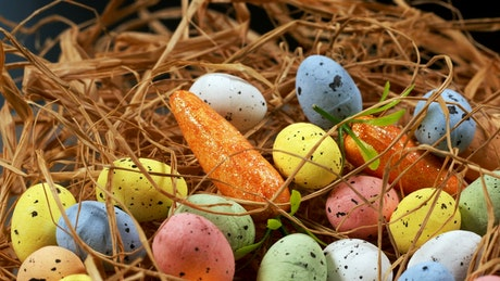 Easter decoration, close up