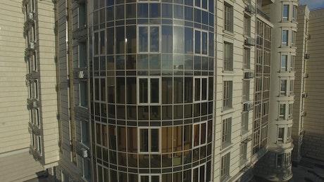 Elegant apartment building