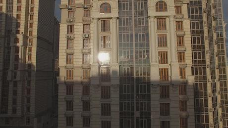 Elegant apartment buildings