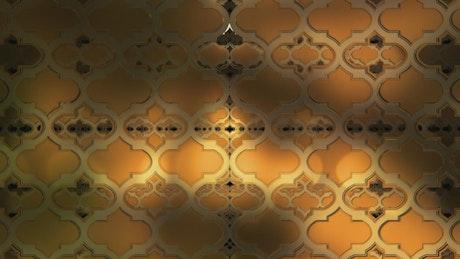 Elegant vintage shape walls