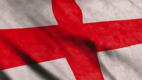 England flag 3D render