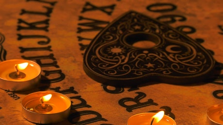 Evil Spiritual Game Board