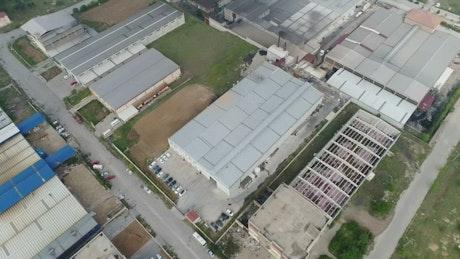Factory building complex