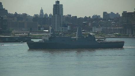 Fleet Week on the Hudson