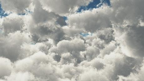 Flying in heaven