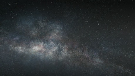 Flying into the center of a galaxy