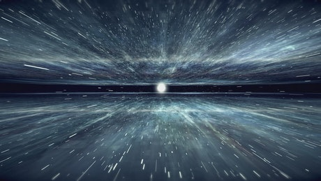 Flying through cosmic clouds