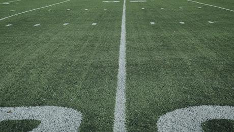 Football 20 yard line