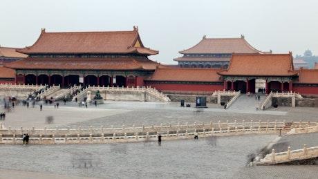 Forbidden city complex in Beijing