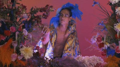 Gay boy in an LGBTQ female concept video