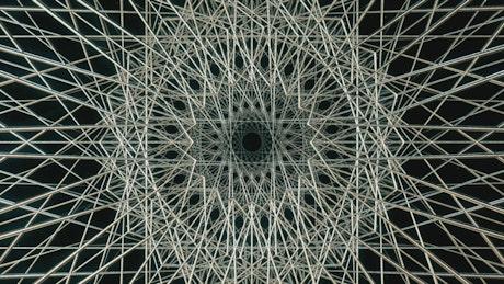 Geometric figures of metal networks