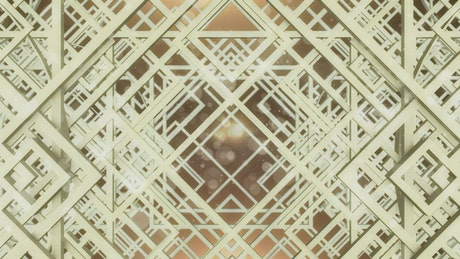 Geometric shapes and frames pattern