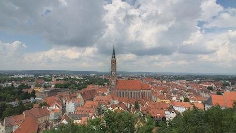 German city landscape