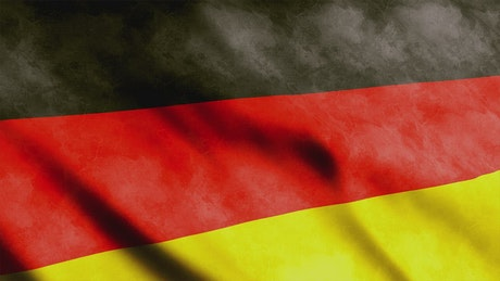 Germany faded 3D flag