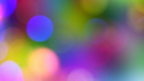 Glitter looking lights bokeh