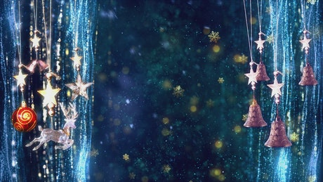 Glitter scenario, Christmas concept