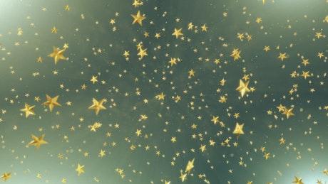 Going through golden stars in 3D