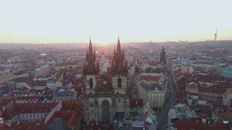 Gothic Church in Prague