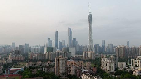 Guangzhou cityscape at daytime