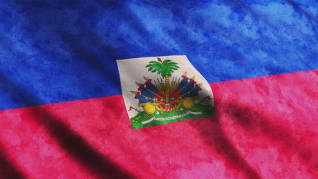 Haiti waving 3D flags from American content