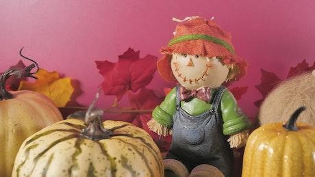 Halloween autumn ornaments