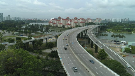 Highway in Singapore