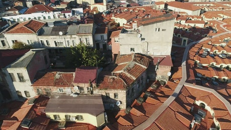 Historic buildings in Istanbul