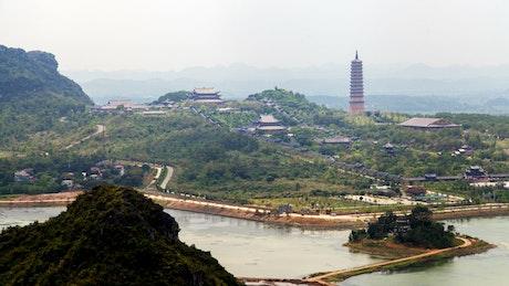 Historic constructions complex in Vietnam