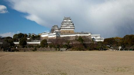 Historical Japanese castle
