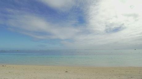 Holiday resort on an island