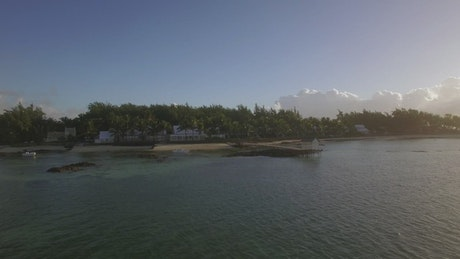 Holiday resort on the coast