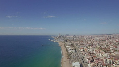 Hotels along the coast in Barcelona