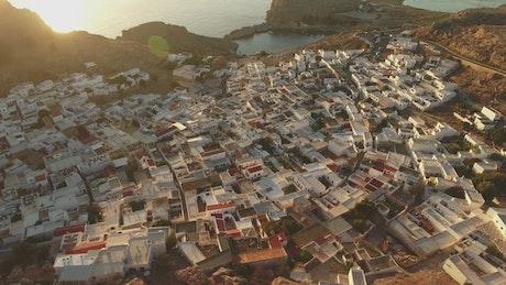 Houses across the coast