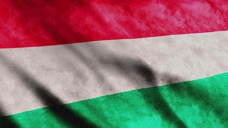 Hungary flag render