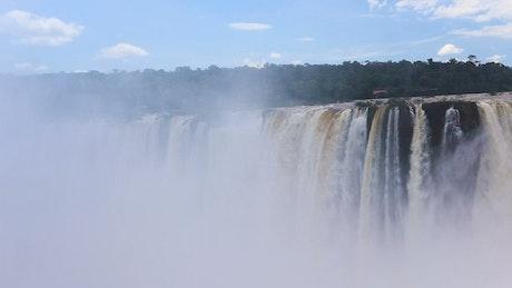 Iguassu Falls landscape