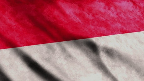 Indonesia flag, Asian country
