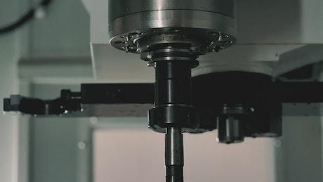 Industrial machine working