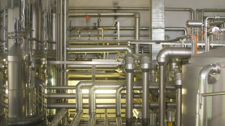 Industrial machinery pipeline